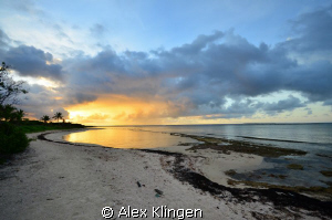 Sunrise in Anguilla by Alex Klingen 